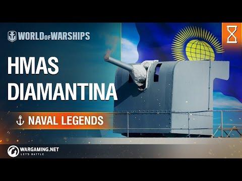 Naval Legends - HMAS Diamantina