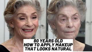Fierce Aging | 80 Years Old | How To Do Natural Makeup | Nikol Johnson