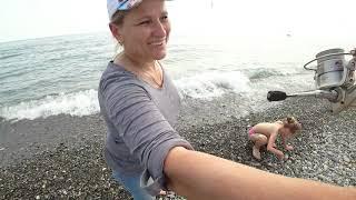 Адлер ловля с берега черное море