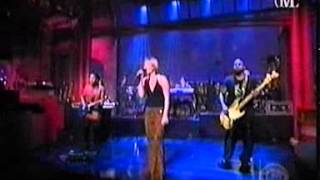 DIDO  HUNTER LIVE LETTERMAN