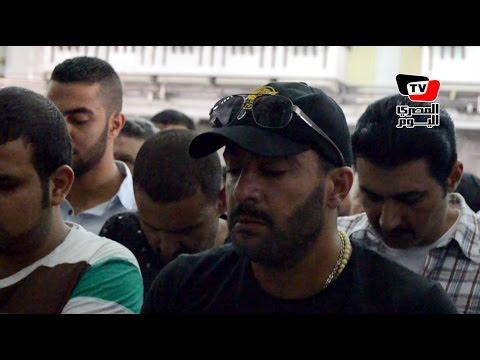 أحمد السقا يتقدم جنازة والد ياسر ورامز جلال