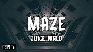 Juice WRLD - Maze (Lyrics)