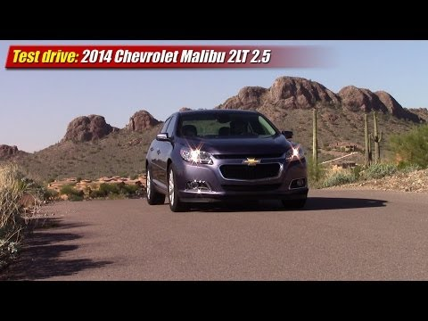 Test drive: 2014 Chevrolet Malibu 2LT 2.5