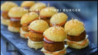 Mini Aloo Tikki Burger | Homemade  Burger Bun Recipe | Homemade Burger -  Reena Ki Rasoi