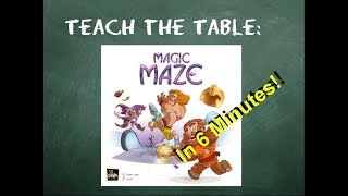 How to play Magic Maze (all rules) in 6 minutes