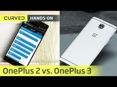 OnePlus 3 vs. OnePlus 2: der Vergleich (Design, Performance, Akku, Kamera) | deutsch