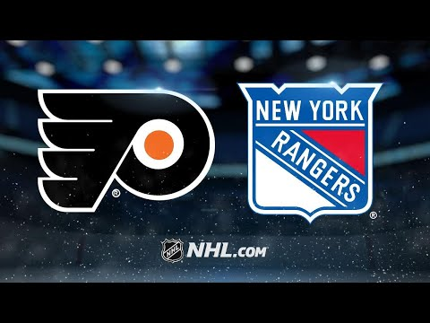 Nash, Rangers end skid with 5-1 win against Flyers