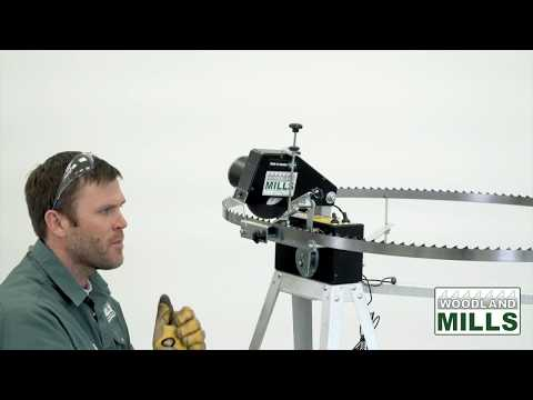 video thumbnail for Woodland Mills Bandsaw Blade Sharpener