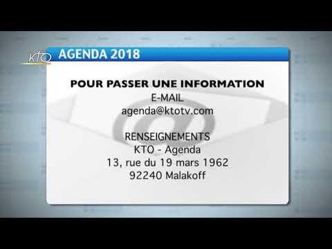 Agenda du 30 avril 2018