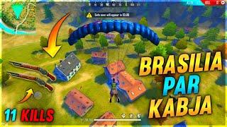 Brasilia Par Kabja || Only M1887 Challenge in Brasilia || Garena Free Fire || Desi Gamers
