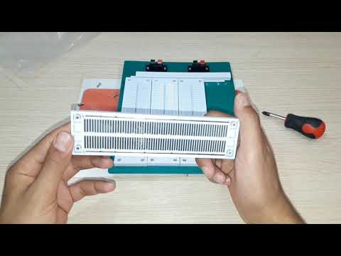 3200 Hole Solderless Test Breadboard With PCB Prototype Board For Arduinov