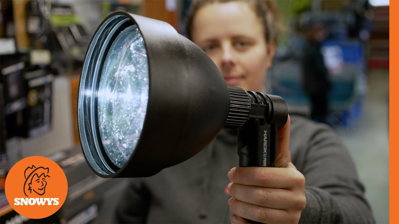 20W Rechargeable Hand-Held Hunting Spotlight