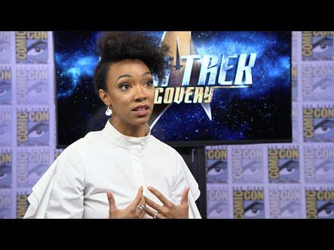 Sonequa Martin-Green On Her Character's Vulcan Vs. Starfleet Education On Star Trek: Discovery