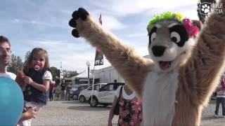 preview picture of video 'Fursuit outing 2edit - Mantes la jolie'