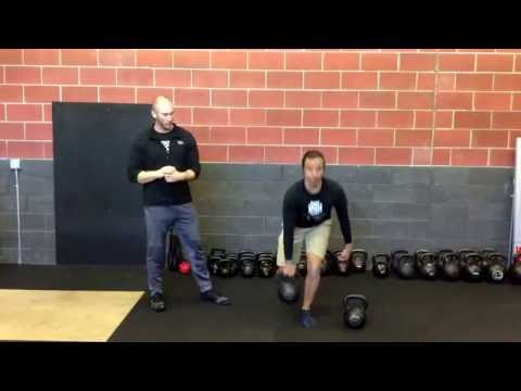 Kickstand Kettle Bell 1 Leg Deadlift