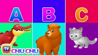 ChuChu TV Alphabet Animals – Learn the Alphabets, Animal Names & Animal Sounds | ABC Songs for Kids
