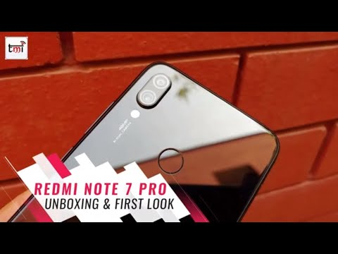 Xiaomi Redmi Note 7 Pro:  First Impressions and Unboxing