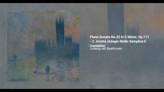 Piano Sonata no. 32 In Cm, Op. 111