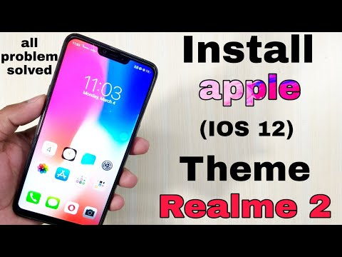 iOS 12 1 Theme For All Realme & Oppo Devices  iPhone Theme