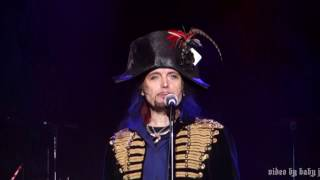 Adam Ant-DON'T BE SQUARE (BE THERE) [Adam & The Ants]-Fillmore, SF-2.7.17-Kings Of The Wild Frontier