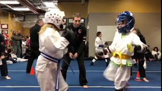 February Tournament Sparring