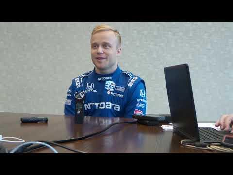 Q&A with IndyCar driver Felix Rosenqvist