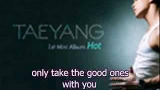 Taeyang - Baby I'm Sorry