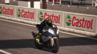 PS4 RIDE / BMW S 1000 RR 2015 Game Replay