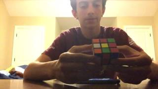 Colorblind Kid Solves Rubik's Cube