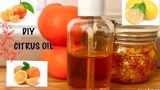 HOW TO DIY YOUR CITRUS ESSENTIAL OIL|SWEET ORANGE, LEMON AND TANGERINE ESSENTIAL OIL