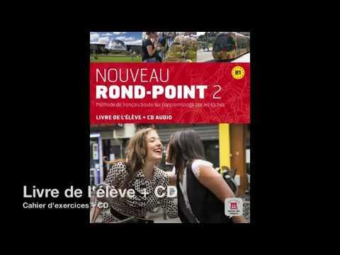 Présentation de Nouveau Rond-Point, méthode FLE adultes