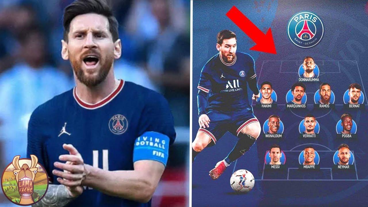Lionel Messi au PSG !
