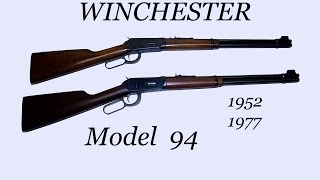 Winchester Model 94 , Pre-64 and Post-64 , Up close