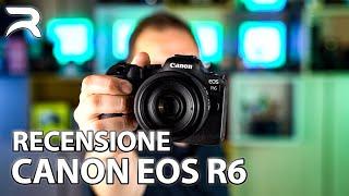 Canon EOS R6 ITA Recensione: TUTTO Quello Che Dovete Sapere