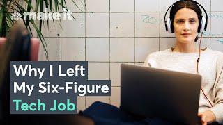 Why Millennials Are Leaving Six-Figure Tech Jobs
