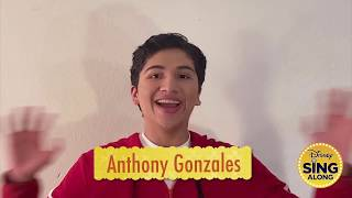 Disney Sing-Along: Anthony Gonzales - Proud Corazon - From Coco