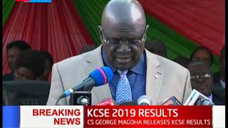 CS Magoha insists yet again that new curriculum must be rolled out in 2020   #KCSE2019