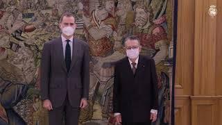 Audiencia a D. Miguel Herrero y Rodríguez de Miñón, Ponente Constitucional, Consejero Permanente de Estado y Presidente de la Sección Primera del Cons