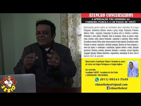 Atenção Concurseiros de Juquitiba e região o Professor Vilmar Chegou