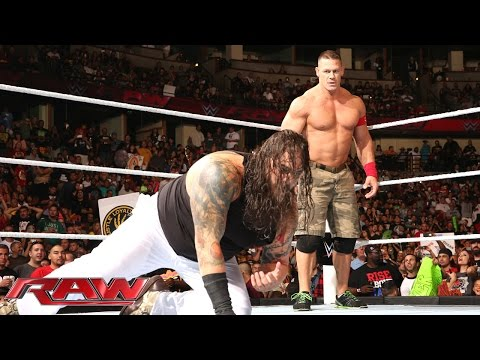 John Cena vs. Bray Wyatt: Raw, Aug. 25, 2014