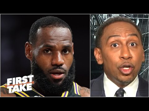 Stephen A. details meeting that left young NBA players 'turned off' by LeBron James | First Take