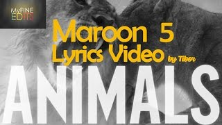 Maroon 5 - Animals (2015) Lyrics Music Video 320kbps Audio by Musician