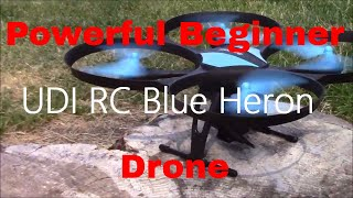Blue Heron Drone HD Wi-Fi FPV Camera | Beginner RC U49W Quadcopter Review | USA Toyz