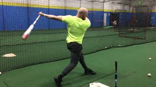 Teaching Hitters How to Hit the Low & Outside Pitch & Stop Reaching | Lesson Clip