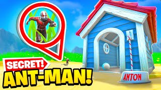 *NEW* ANT-MAN ARRIVES in Fortnite! (SECRET UPDATE)