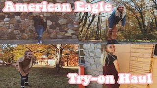 AMERICAN EAGLE WINTER TRY-ON CLOTHING HAUL