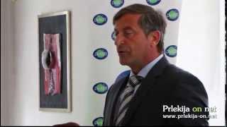 Karl Erjavec na predstavitvi kandidatov stranke DeSUS za volitve v Državni zbor RS