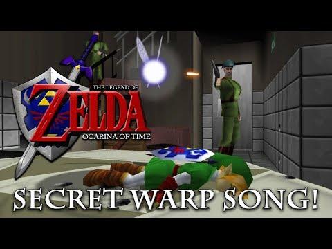 The Legend of Zelda - Ocarina of Time - Secret Warp Song!