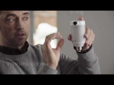 LightCam: Smart Lightbulb & Security Camera-GadgetAny