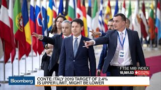 Italy Resists EU Budget Pressure on